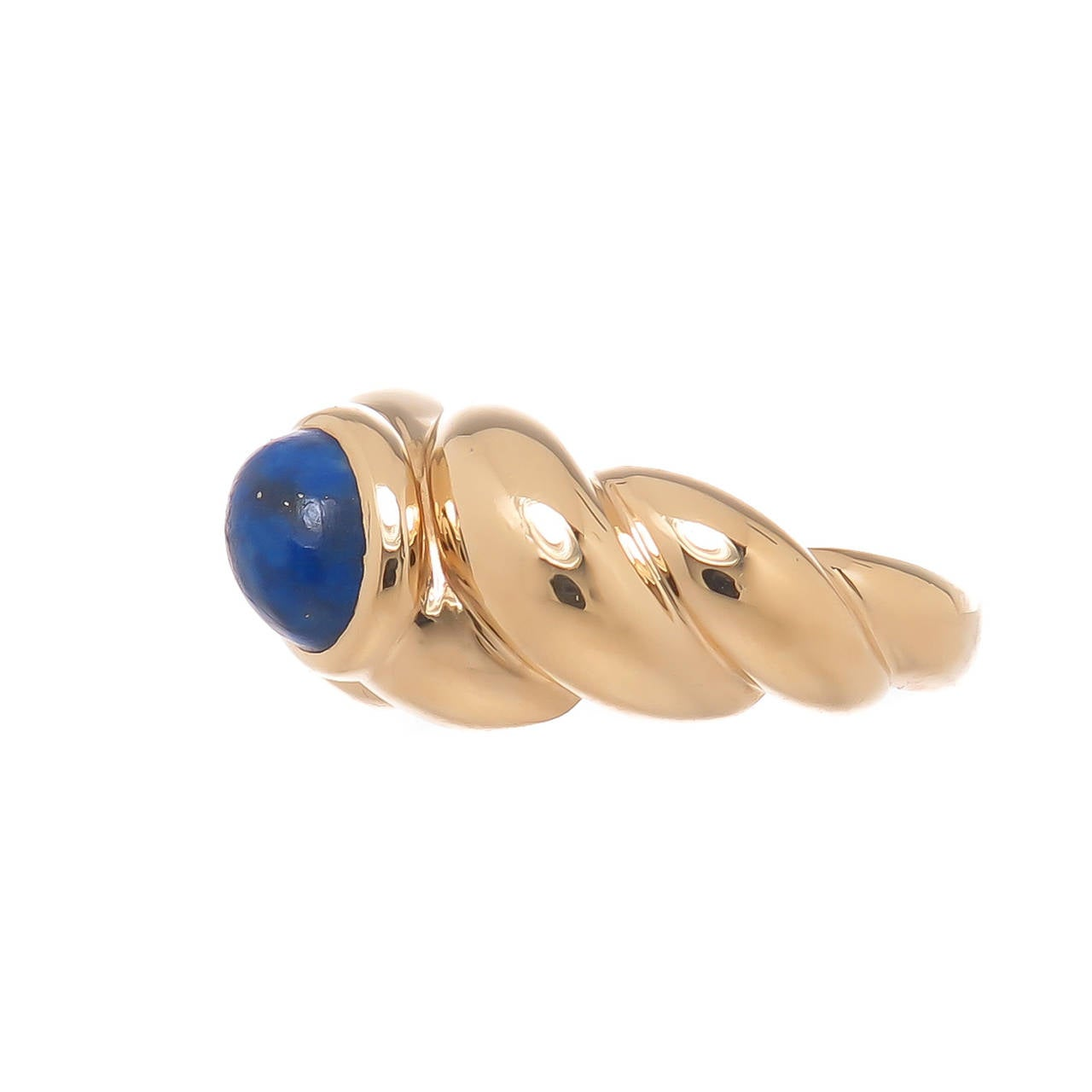 Van Cleef & Arpels Lapis Ring In Excellent Condition For Sale In Chicago, IL