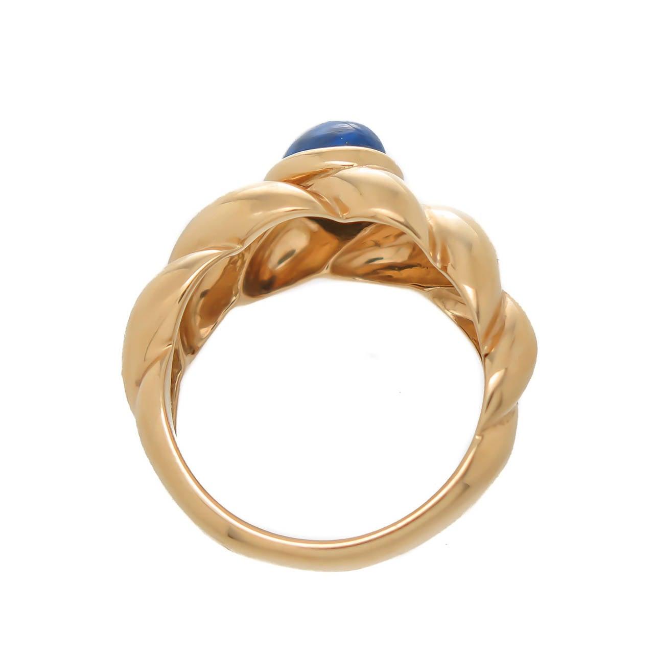 Women's Van Cleef & Arpels Lapis Ring For Sale