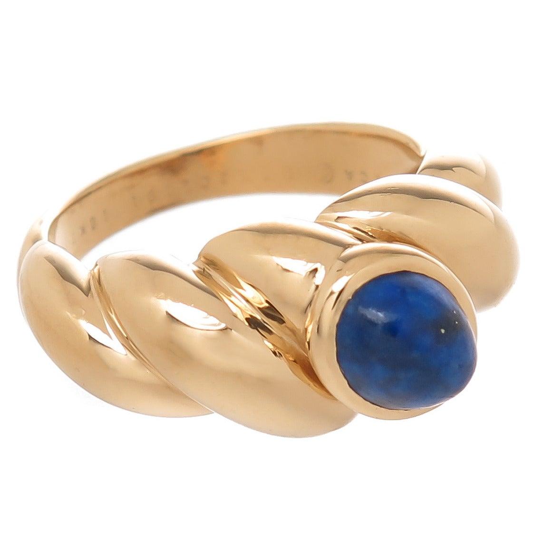 Van Cleef & Arpels Lapis Ring For Sale