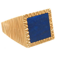 Andrew Grima Lapis Gold Ring