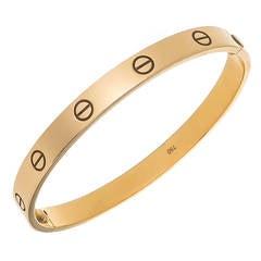 Cartier Yellow Gold Love Bracelet