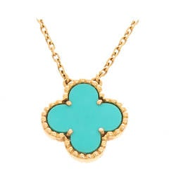 Van Cleef & Arpels Alhambra Yellow Gold Necklace