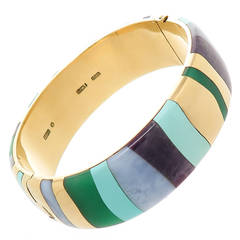Tiffany & Co. Stone Set Bangle Bracelet