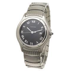Cartier Santos Ronde Steel Large Quartz Wrist Watch