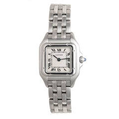 Cartier Ladies Stainless Steel Panther Quartz Wristwatch