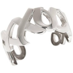 Paloma Picasso for Tiffany & Co. Love and Kisses Bracelet, 1980s