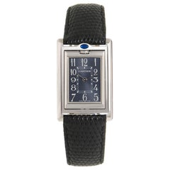 Cartier Stainless Steel Basculante Quartz Wristwatch, circa 2010