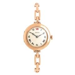 Rolex Ladies Rose Gold Wristwatch, circa 1920