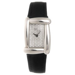 Henry Dunay Ladies Stainless Steel Diamond Medea Quartz Wristwatch
