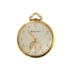 Mathey Tissot Yellow Gold Pocket Watch Owned and Worn by Jerry Lewis
