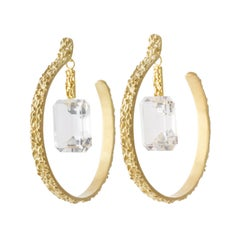 Joan Hornig Gold Tahini Dip Earrings
