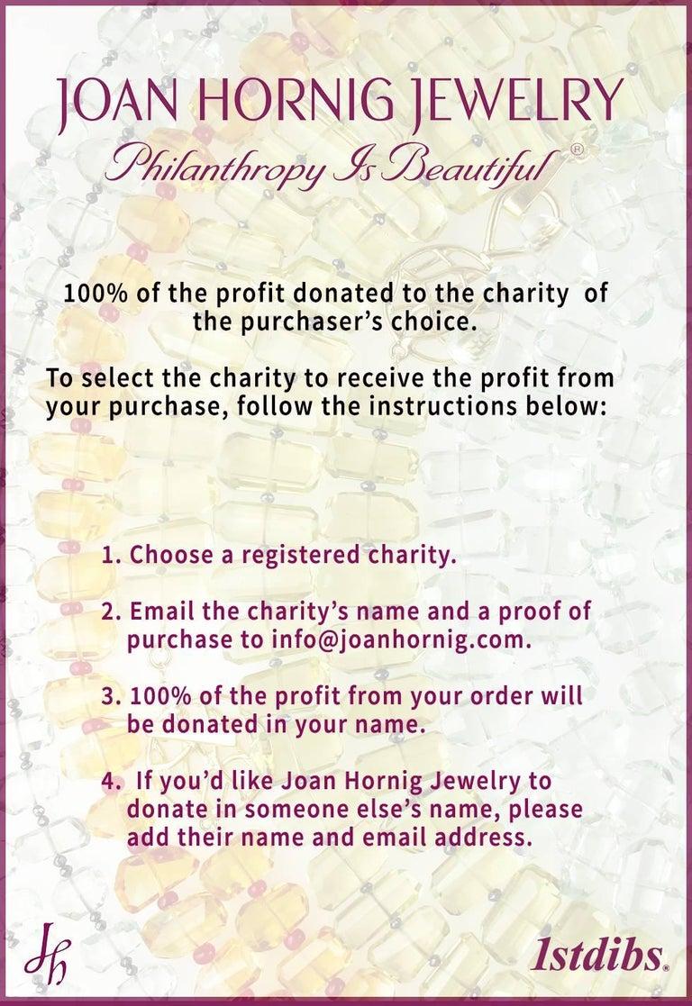 Round Cut Joan Hornig Triple Diamond Pinwheel Earrings For Sale
