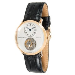 Arnold and Son Utte Tourbillon Limited Edition 18.3.1.01 Men's Watch in Gold