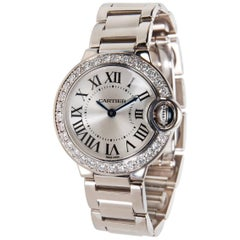 Cartier Ballon Bleu WE9003Z3 Ladies Watch in White Gold