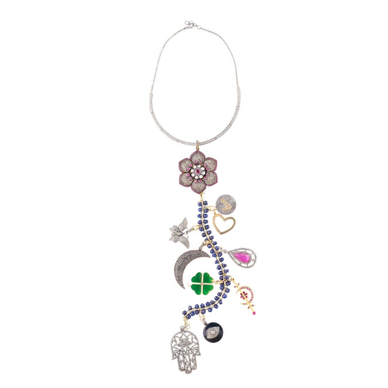 Clarissa Bronfman ' Beyond My Wildest Dreams' Symbol Tree Necklace