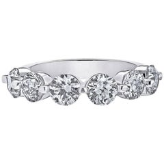 .45 Carat Each Diamond Emilio Band