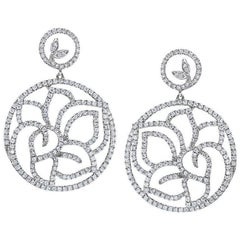 Exquisite Diamond Earrings