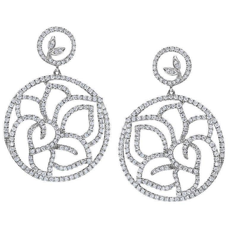 Emilio Jewelry Exquisite Diamond Earrings