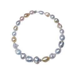Natural Baroque South Sea Pearl Necklace