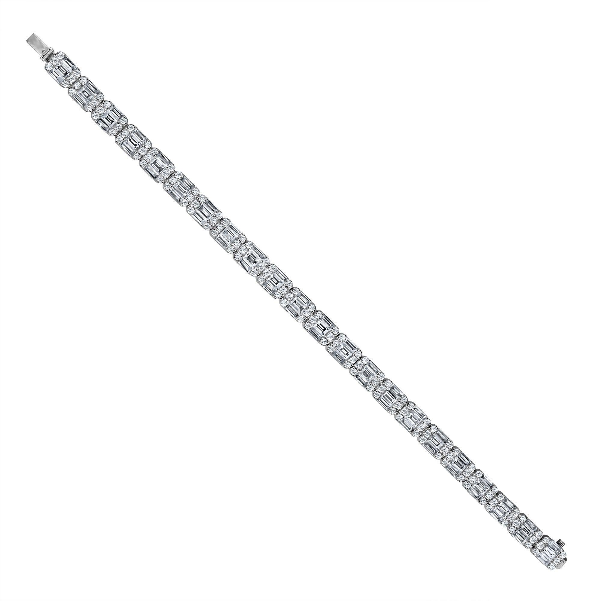 Emilio Jewelry 11.70 Carat Diamond Bracelet
