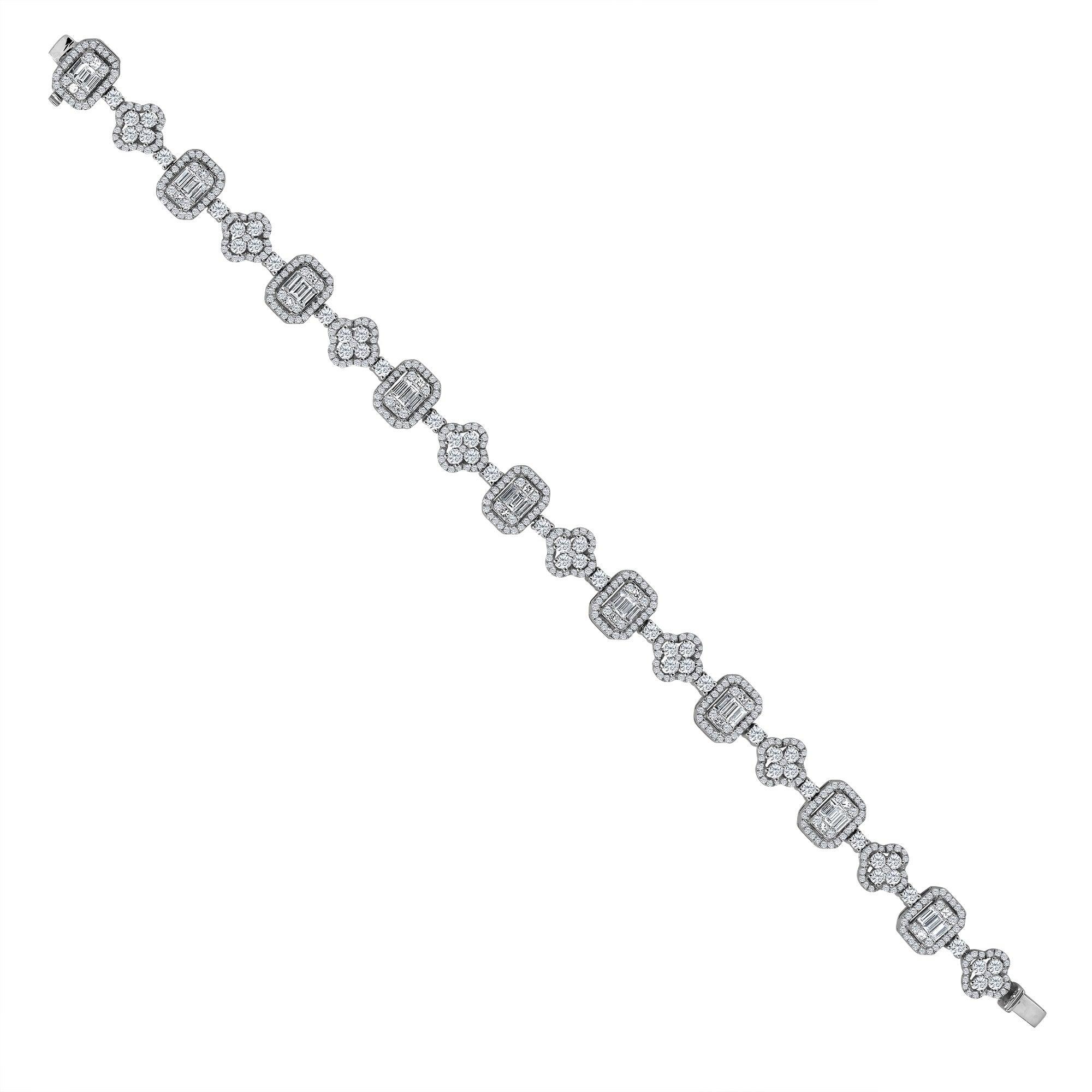 Emilio Jewelry 4.47 Carat Diamond Bracelet