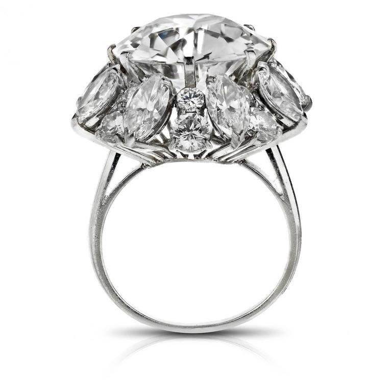 Bulgari 12.21 Carat GIA Cert Diamond Platinum Ring  3