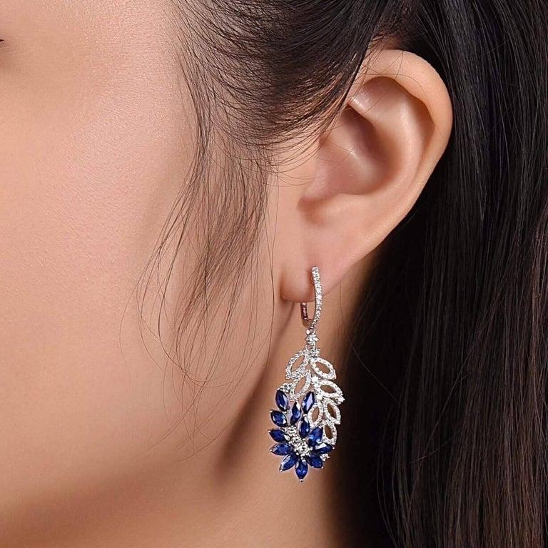 Flower Dangle Earrings 2