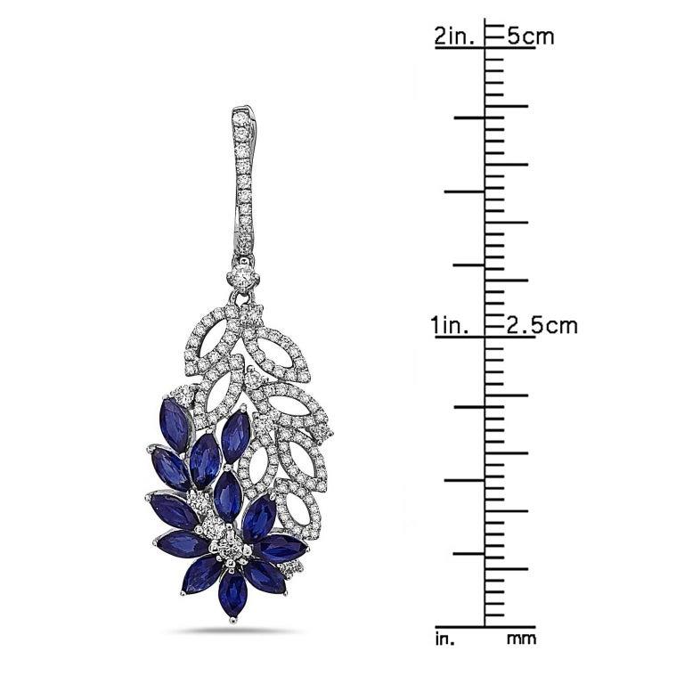 Flower Dangle Earrings 3