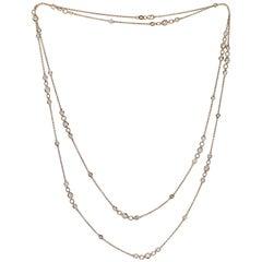 Emilio Jewelry 46 Inch Diamond by the Yard Necklace