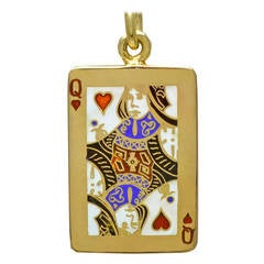 Tiffany & Co. Queen of Hearts Pendant Charm
