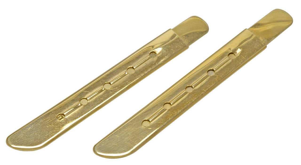 Cartier Gold Collar Stays At 1stdibs
