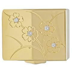 Tiffany & Co. Diamond Gold Pill Box
