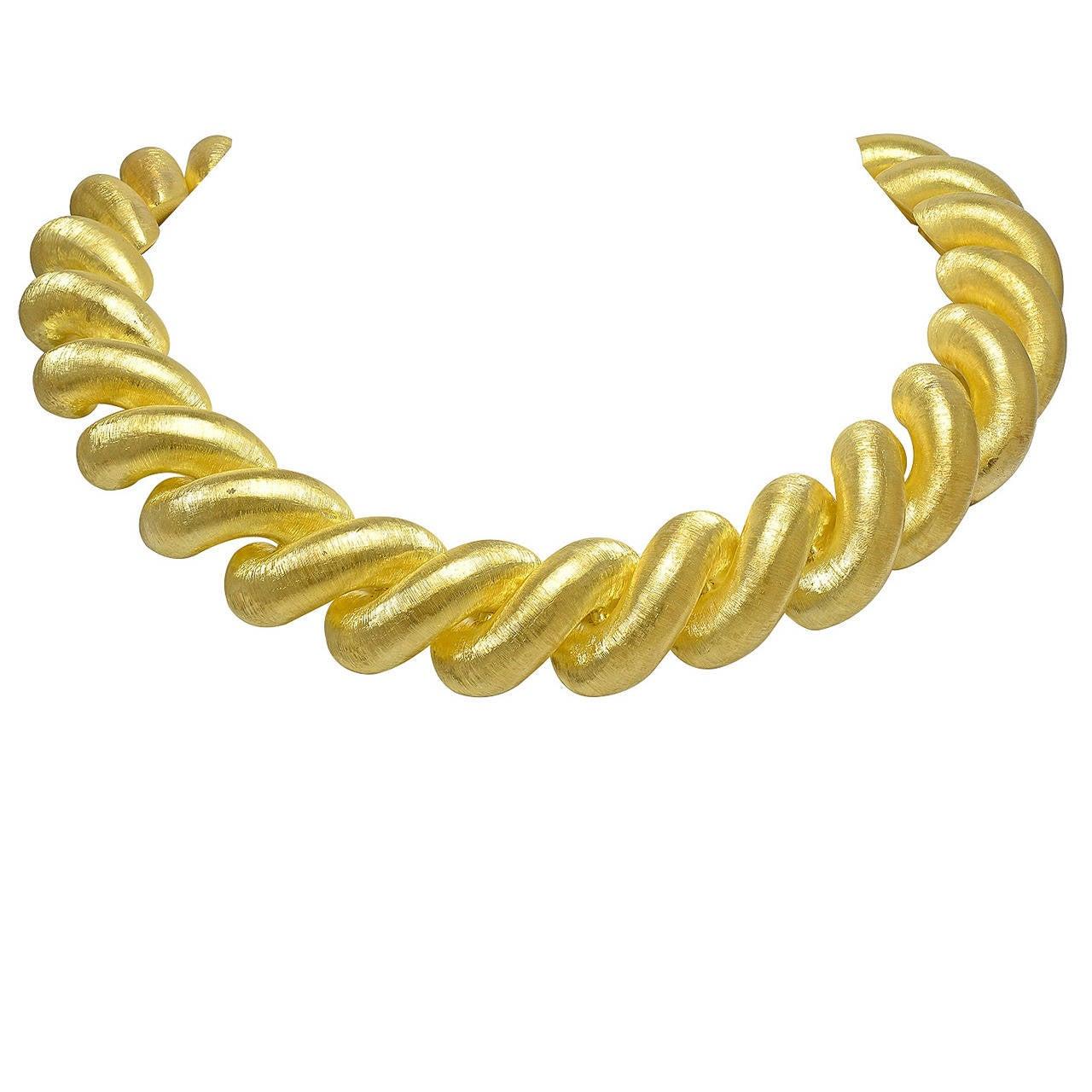 Buccellati Gold Necklace