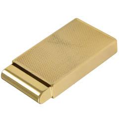 Tiffany & Co. Gold Pill Box