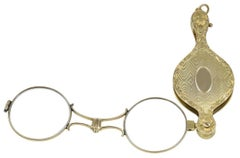 Antique Gold Lorgnette