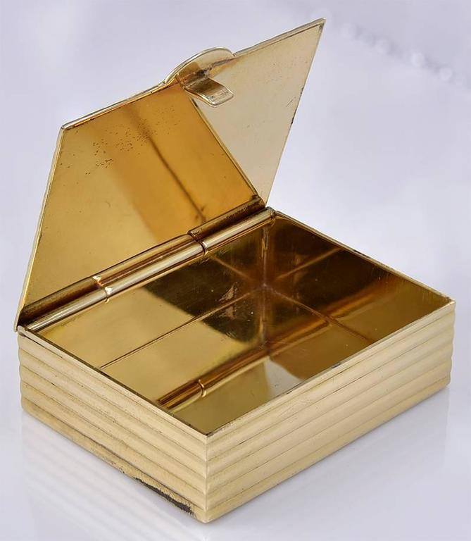 Tiffany & Co. Elegant Gold Pill Box 3