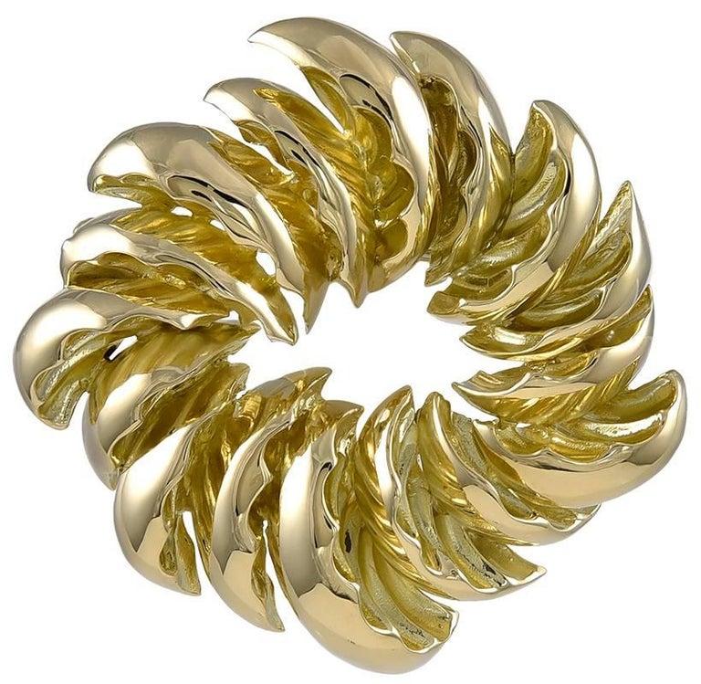 Tiffany & Co. Gold Brooch