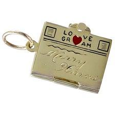 Gold Merry Xmas Lovegram