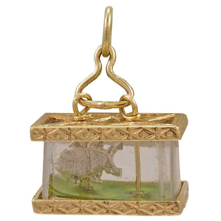 Fish in Fish Tank Charm