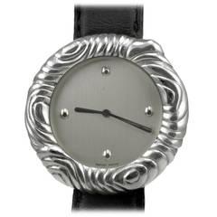 Angela Cummings Lady's Sterling Silver Wristwatch