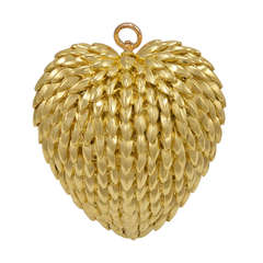 TIFFANY & CO Puffy Heart Pin or Pendant