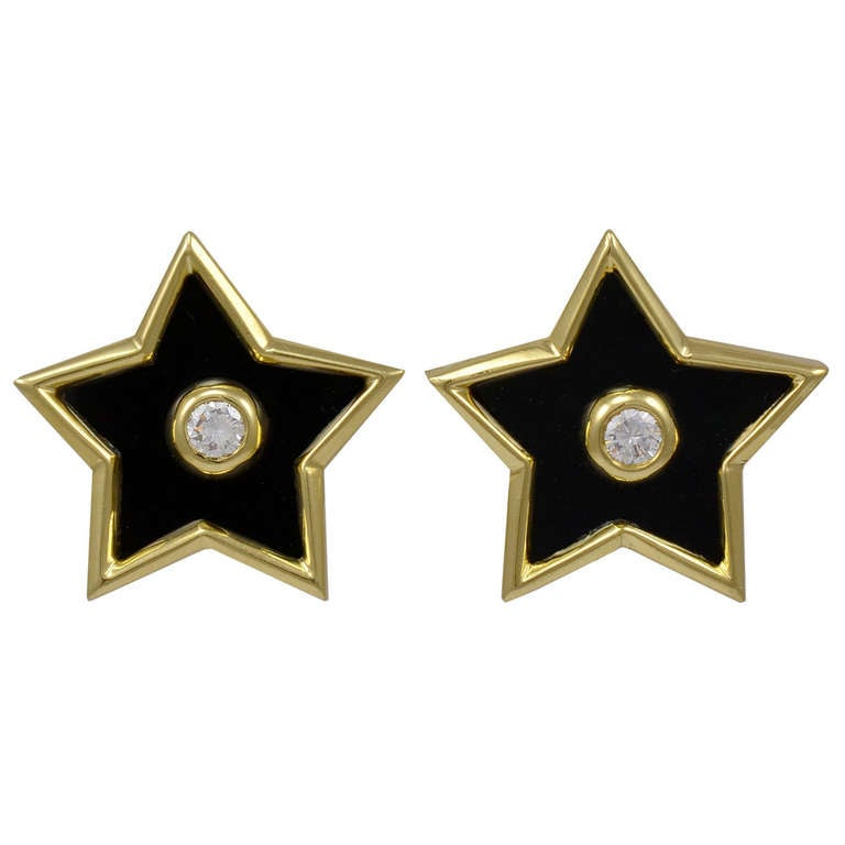 Tiffany & Co. Paloma Picasso Star Earrings