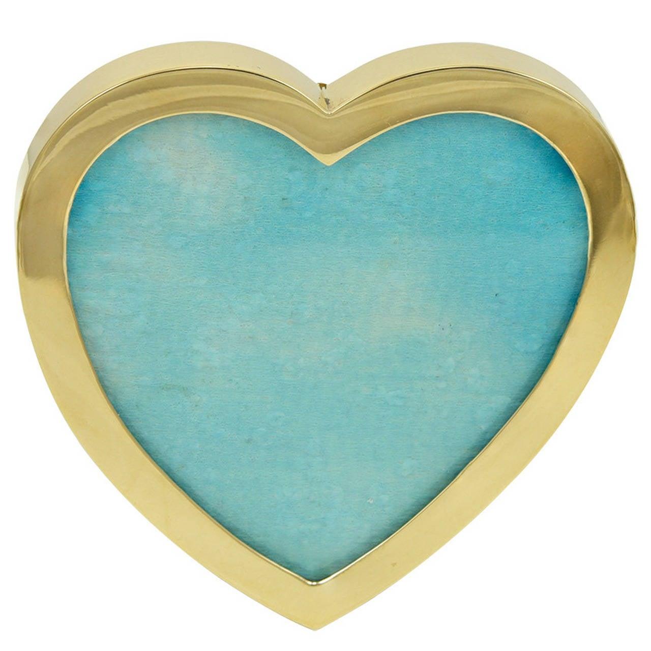 Tiffany & Co. Gold Heart Frame