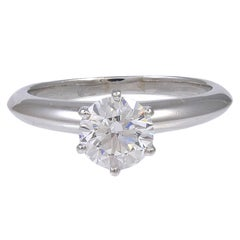 Tiffany & Co. Diamond Platinum Engagement Ring