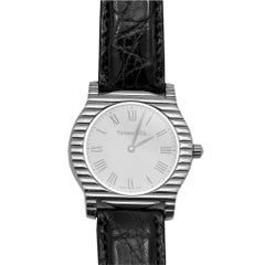 Tiffany & Co. White Gold Quartz Wristwatch