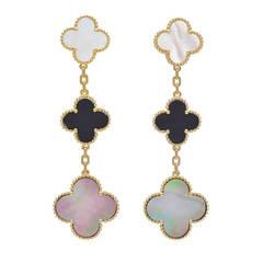 Van Cleef & Arpels Magic Alhambra Drop Earrings