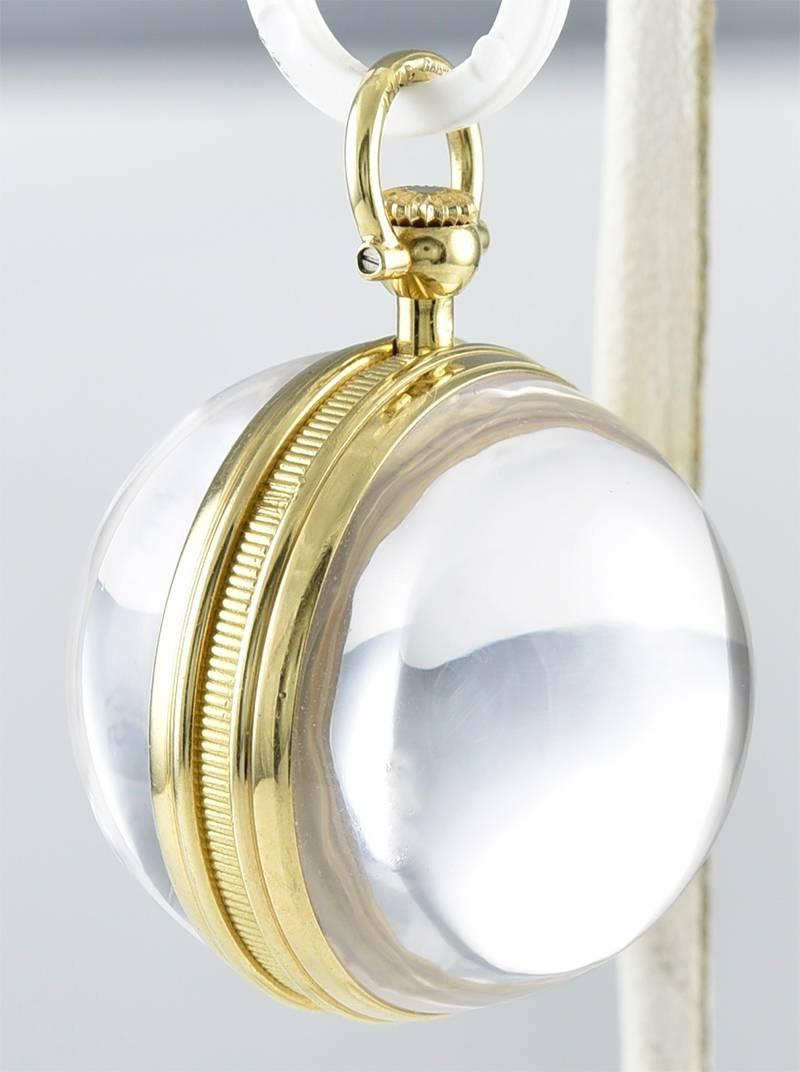 j and co jewelry and co gold clock pendant at 1stdibs 8713