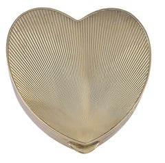 Tiffany & Co. Large Gold Heart Box