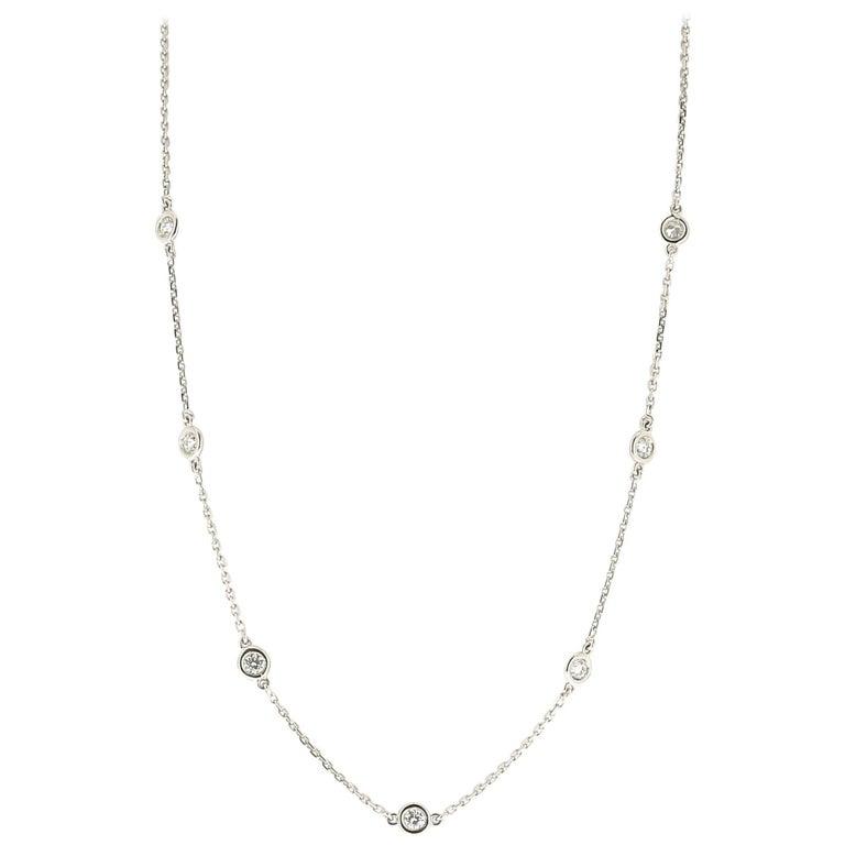 Diamond Necklace and Gold 18 Karat
