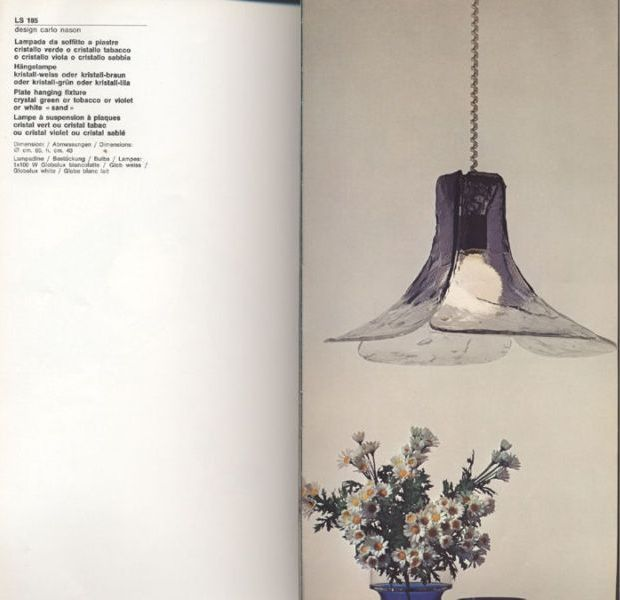 """Flower Petal"" Crystal Chandelier by Carlo Nason for Mazzega For Sale 2"